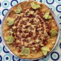 Cha Cha Chipotle Pizza at Pizza by the Sea