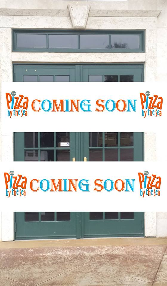 Seaside Pizza by the Sea Opening Soon