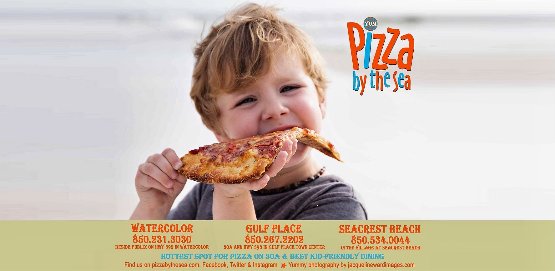 Pizza by the Sea on 30A Family Friendly and YUM!