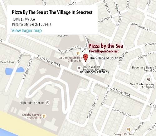 Seacrest Pizza by the Sea